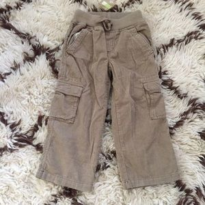 Crazy8 Brown Corduroy Cargo Pants SZ 4